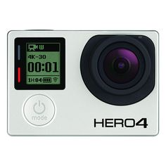 GoPro Hero 4 Official Specs: 4K/30fps, Built-in Touch Screen, 1080/120fps