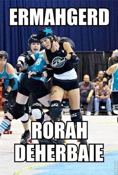 Ermahgerd! Roller Derby. @Shea Humphrey