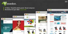 THEMES FREE: Venedor v2.5.2 – eCommerce & WooCommerce WordPress...