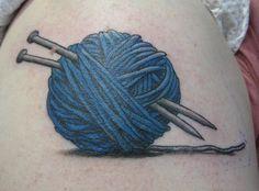 Sewing art pictures colour 20 New Ideas Knitting Tattoo, Yarn Tattoo, Crochet Tattoo, Pretty Tattoos, Cool Tattoos, Strick Tattoo, Sewing Tattoos, Sparrow Tattoo, Different Tattoos
