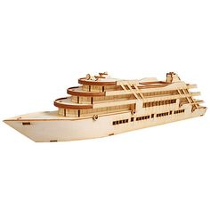 Wooden Model Ship Kits Junior Series- Scale models Cruise Ship