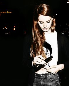 "Lana del Ray - ""off to the races"" is my on constant repeat song for the week"