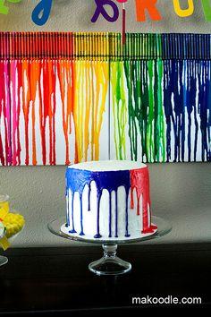 Art Birthday Cake
