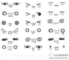 chibi eyes reference \ chibi eyes & chibi eyes simple & chibi eyes boy & chibi eyes how to draw & chibi eyes male & chibi eyes tutorial & chibi eyes reference & chibi eyes kawaii Realistic Eye Drawing, Manga Drawing, Drawing Tips, Manga Art, Drawing Ideas, Chibi Drawing, Drawing Faces, Kawaii Drawings, Cute Drawings