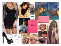 """""""Arriving at Royal Rumble"""" by samanthanicole39 ❤ liked on Polyvore featuring Victoria's Secret, GET LOST, Christian Louboutin, Allurez, Saks Fifth Avenue, Anne Klein, Yves Saint Laurent and Casetify"""