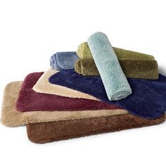 Royal Velvet® Pure Perfection™ Bath Rugs, to match my towels - jcpenney