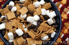 One Sweet Appetite: Camping Food: Trail Mix