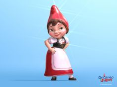 Wallpaper of Gnomeo and Juliet! for fans of Gnomeo and Juliet 25396409 Gnome Costume, Halloween Costumes, Halloween 2020, Bussines Ideas, Disney Pixar, Disney Characters, Costume Tutorial, Maggie Smith, Animation Film
