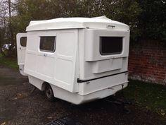 Vw Portafold Folding Caravan Camper With Spit Screen Barn Door