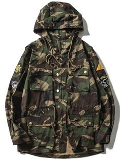 SHARE & Get it FREE | Drawstring Multi-Pocket Patches Design Hooded Camo JacketFor Fashion Lovers only:80,000+ Items • New Arrivals Daily • Affordable Casual to Chic for Every Occasion Join Sammydress: Get YOUR $50 NOW!