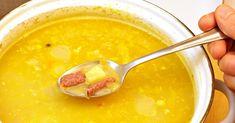Ako si urobiť tú najlepšiu hrachovú polievku? 3 dôležité pravidlá, ktoré musíte dodržiavať + recepty - napadyarady.sk Cheeseburger Chowder, Fondue, Salsa, Pudding, Soup, Ethnic Recipes, Desserts, Tailgate Desserts, Deserts