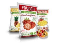 Snacks de Frutas | Frunch - Coconut Water and Water chia - freeze-dried fruit snacks