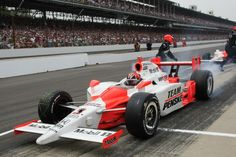 Helio Castroneves #3 Dallara-Honda, Winner 2009 Indianapolis 500 (IMS Archives)