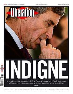 Libération, journal numérique du 3 avril 2013
