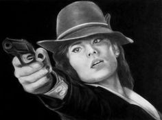 Agent Carter Graphite on paper