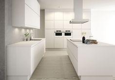 Bilderesultat for sigdal magenta Kitchen Dining, Kitchen Cabinets, Modern Kitchen Design, Contemporary Interior, Home Renovation, Home Kitchens, Kitchen Remodel, New Homes, House Design