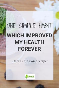 When I say one simple healthy habit changed my health drastically, I am not exaggerating. A healthy green smoothie lead to weight loss, energy, better skin and no bloating. Here I share the simple recipe I use. Quick Lunch Recipes, Vegetarian Recipes Easy, Healthy Dessert Recipes, Dinner Recipes, Smoothie Recipes, Free Recipes, Breakfast Recipes, Healthy Family Meals, Healthy Habits