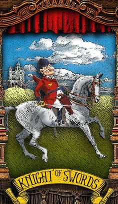 The Tarot of Mister Punch: An Unironic Knight