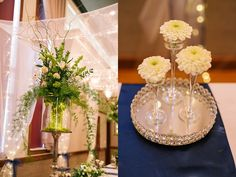 Amy Hirschi Photography // Navy and Green wedding // utah Wedding Photographer // Classy LDS church reception // Elegant reception // Wedding day // Ogden Temple Wedding