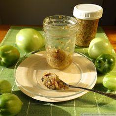 Green Tomato Bacon Jam