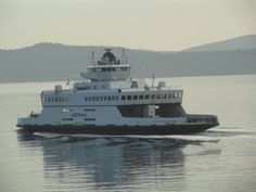 Ferry to Vancouver Island, Canada