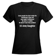 c27db8dc Army Daughter Shirt #cafepress #armydaughter Funny Tees, Funny Tshirts,  Gold Labels,