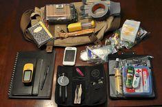My geocaching bag. by AnnaElizabeth55, via Flickr