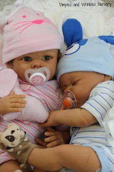 dimples and wrinkles Twins Connor & Cali dolls | ... BIRACIAL BABY BOY*KASSI*TWIN #2 *RARE* FEW PRODUCED* ARTIST STACIA B