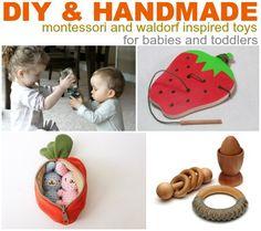 Baby & Toddler Zone: DIY and Handmade Montessori and Waldorf Toys