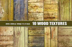 Old Distressed Wood Textures Grunge by Area on Creative Market