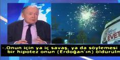 Fransız politika uzmanı canlı yayında Erdoğan için skandal sözlere imza attı