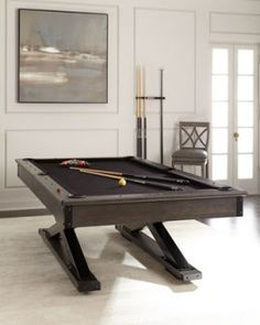 6XQ5 Bronco Pool Table With Table Tennis Conversion Set Bronco Pool Table