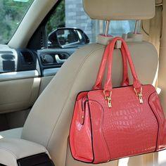 2pcs Pink Car Truck Seat Back Hanger Organizer Hook Headrest Holder Universal | eBay