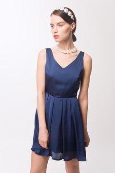 vestido MAUI LISO — shop.laspepas.com.ar