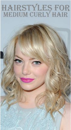 Top 9 Hairstyles for Medium Curly Hair..