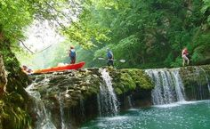 Explore Plitvice area and Croatian countryside on this Plitvice Lakes activity holiday. Cycling, kayaking, rafting, walking in one perfect outdoor trip. Travel Activities, Holiday Activities, Kayaking, Canoeing, Plitvice Lakes National Park, Vacation Packages, Rafting, Croatia, Adventure Travel