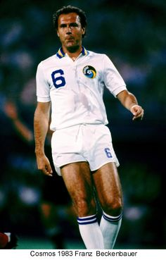 An poster sized print, approx (other products available) - Franz Beckenbauer, New York Cosmos - Image supplied by PA Images - Poster printed in the USA God Of Football, New York Football, Best Football Players, World Football, Soccer Players, Football Soccer, Chelsea Football, Cosmos Image, North American Soccer League