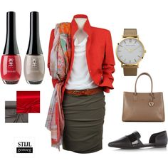 Female business by langgenoeg on Polyvore featuring mode