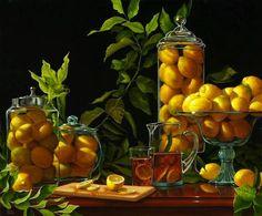 Diane Fraser. Lemons,Glass & Ice Tea.  2013