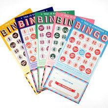 Bingo beloningskaarten