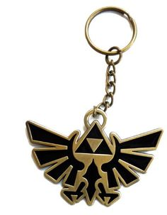 The Legend of Zelda Twilight Princess Triforce Key Chain - http://forthatgeek.com/clothing-accessories/the-legend-of-zelda-twilight-princess-triforce-key-chain/