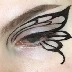 Punk Makeup, Dope Makeup, Edgy Makeup, Makeup Eye Looks, Grunge Makeup, Eye Makeup Art, No Eyeliner Makeup, Pretty Makeup, Makeup Inspo