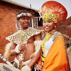 African Traditional Dresses, Traditional Outfits, Zulu Traditional Wedding, Night Out, Captain Hat, Groom, Slim, Elegant, Lady