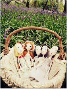 basket full of pretty dolls!