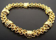 Resultado de imagen para pulseras de oro Mens Gold Bracelets, Fashion Bracelets, Gold Jewelry, Gold Necklace, Gold Bangles Design, Gold Chains For Men, Mesh Bracelet, Bling, Jewels