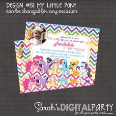 My+Little+Pony+Inspired+with+or+without+photo+by+DigitalParty,+$9.25