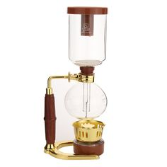 345x120mm Drip Coffee Maker Glass Siphon Coffee Maker Coffee Pot 3 Cups Kitchen Grinding Tool High Quality