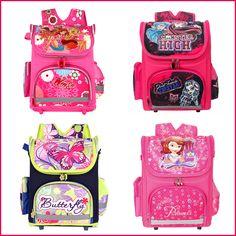 Winx School Bags Orthopedic Girls Princess Children School Bags Sofia the First Monster High School Backpack Mochila Infantil $19.80 - 42.08