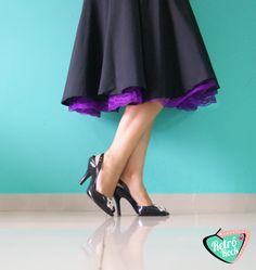 .Estilo Retrô Rock. www.retrorock.com.br #50s #retro #petticoat #skirt