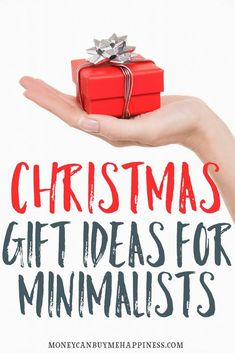 Do you have frugal, minimalist-type friends and family, who make Christmas and gift-giving in general kind of awkward? If so, you'll want to read this post. Minimalists tend to value experiences over things, but the things they keep are things they adore, which make them happy. These minimalist gift ideas will make the minimalist in your life smile. Minimalist gift giving | gift ideas for minimalists